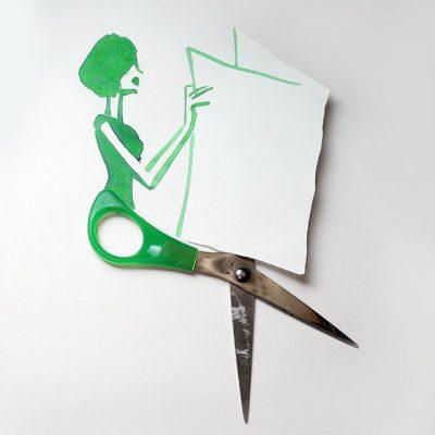 """Небрежни """"неделни скици"""", завършени забавно с предмети от ежедневието ни (илюстрации)"""
