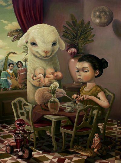 Поп сюрреализъм и ренесансова живопис – в платната на индонезиеца Roby Dwi Antono
