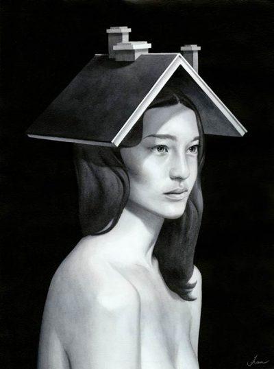 Където жените са богини – сюрреалистичните, меланхолични картини на Tran Nguyen