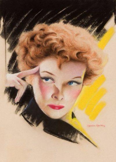 """""""Хубавата жена"""" в 40 пастелни портрета, създадени от Чарлз Гейтс Шелдън през 20-те и 30-те"""