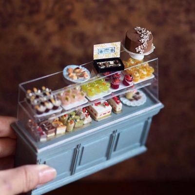 Японка създава удивителни миниатюри за… куклени къщи