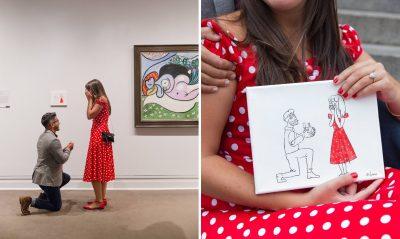 Артистично предложение за брак, на ръба на закона – с тайно закачена картина в Metropolitan Museum of Art