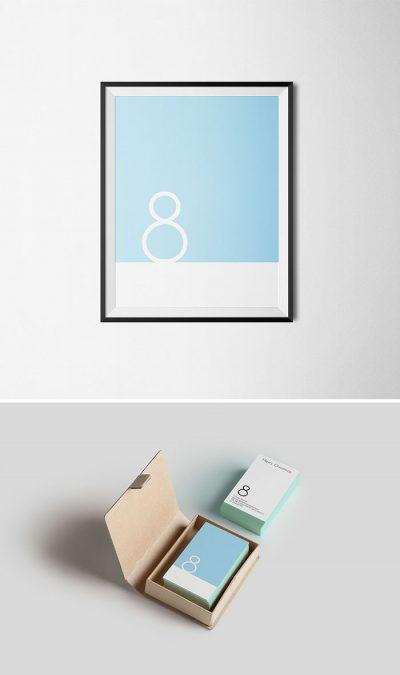 Минималистични коледни картички (за влюбени в типографията)