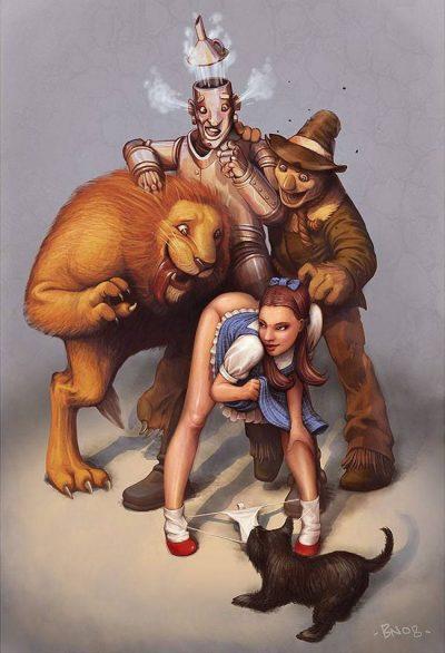 """Мръсни приказки – в """"палавото"""" изкуство на Ben Newman"""