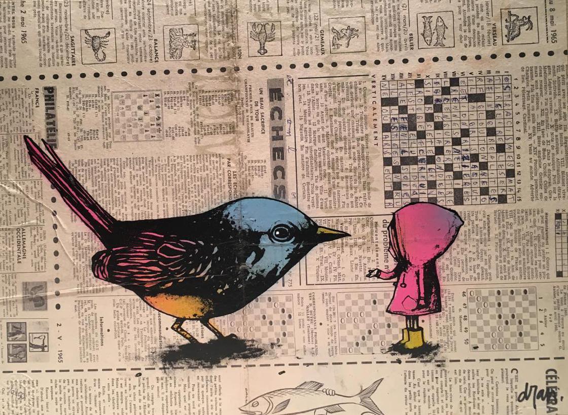 илюстрации, колажи и карикатури от френския Банкси