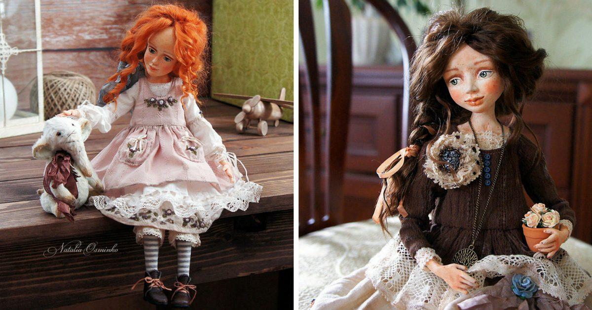 руски артист изработва ръчно изящните си кукли