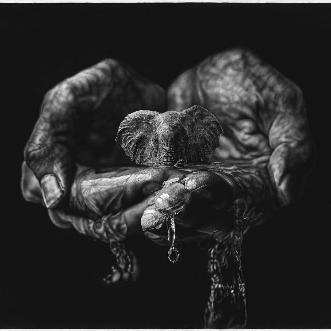 Красивото нарушаване награницата между хипер- и сюрреализъм (картини)