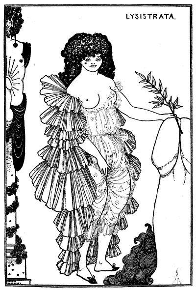 """Революционните илюстрации на Обри Биърдсли за """"Саломе"""" на Оскар Уайлд и """"Лизистрата"""" на Аристофан"""