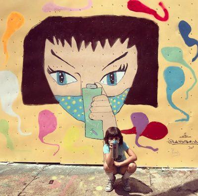 Най-младият уличен артист – 9-годишната Лола, ни кани в пъстрия си свят