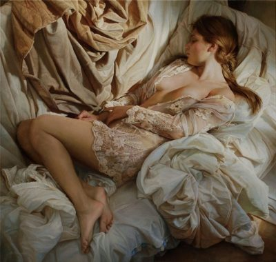 "Хиперреалистични маслени платна ""празнуват"" женствеността"
