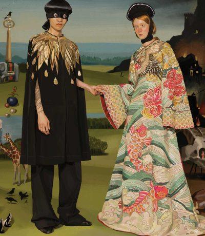 Сюрреалистични илюстрации вместо лъскави снимки – Gucci представиха колекцията си пролет-лято 2018