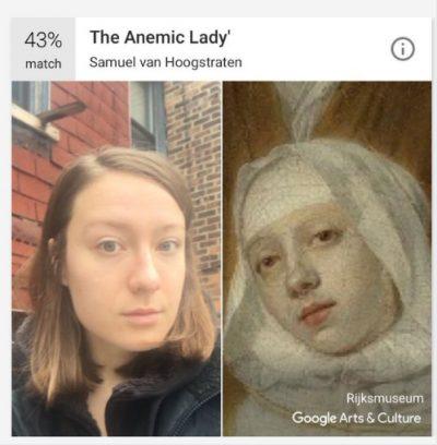 Приложение на Google ни помага да открием двойника си в изкуството