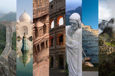 360-градусови видеа разкриват красотата на Новите 7 чудеса на света