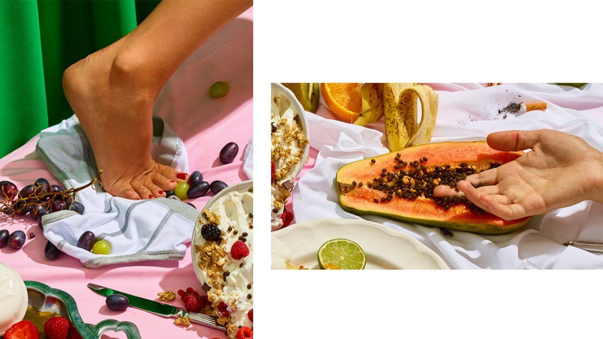 Секс за закуска - концептуален фотопроект