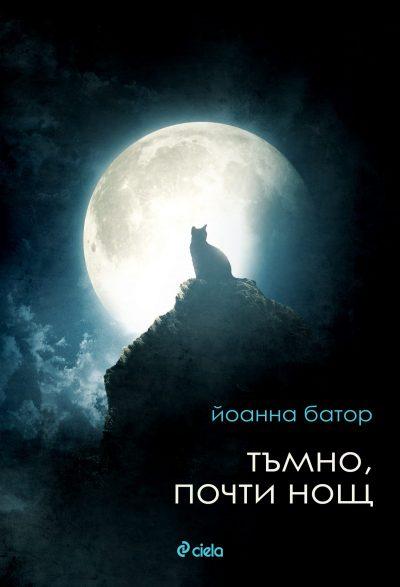 корицата на Тъмно, почти нощ