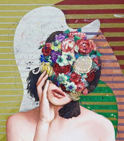 Floral Minds: колажите на арменски художник разказват истории с наслояване