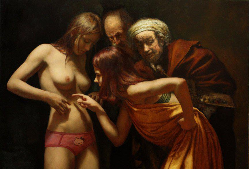 синкретизъм (серия картини на Сесар Сантос)