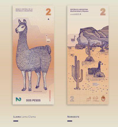 Красив редизайн на аржентинските банкноти, вдъхновен от биоразнообразието в страната