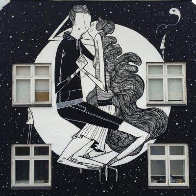 Поетичното улично изкуство на бразилеца Alex Senna