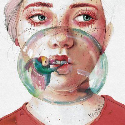 Между дързостта и меланхолията – женските лица на Ана Сантос