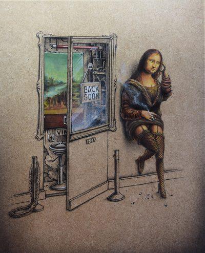 Между графити и поп култура – сюрреализмът в скицника на PEZ
