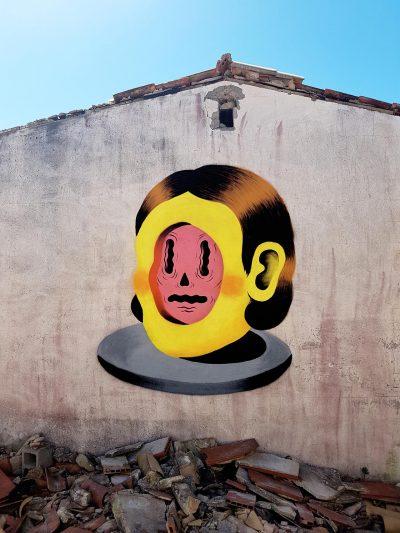Мост между външни и вътрешни пространства – графитите на Grip Face