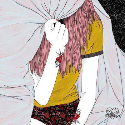 """Never Forever: илюстрации """"за тези, които се влюбват, разлюбват и заобикват всякакви глупости между двете"""""""