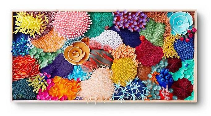 Красотата и крехкостта на кораловите рифове - в удивителна хартиена пластика