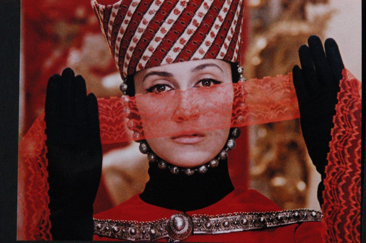кадър от Цветът на нара на Сергей Параджанов
