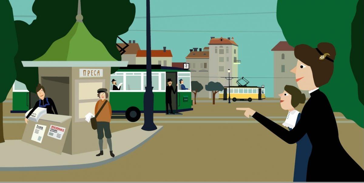"""""""Двата трамвая"""" на големия руски поет Осип Манделщам намигат в превод на Ася Григорова и с илюстрациите на Свобода Цекова"""