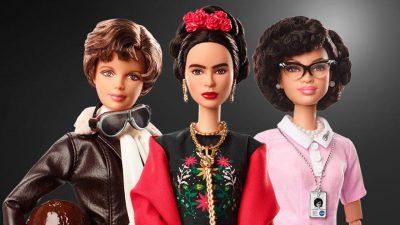 Барби се преобрази като Фрида Кало, Амелия Еърхарт и още 15 вдъхновяващи жени