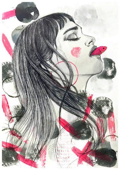 Поетичните илюстрации на Рома Гутиерес