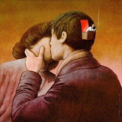 """Полски """"илюстратор на сюрреалистични времена"""" извършва дисекция на обществото"""