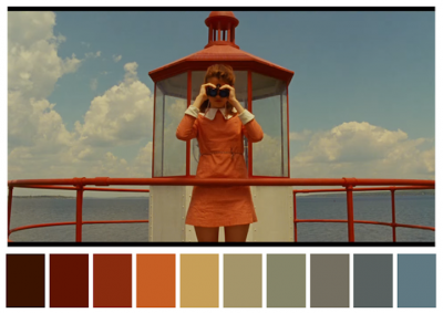 """Палитрите на емблематични филмови сцени разкриват как цветовете """"задават"""" настроение"""