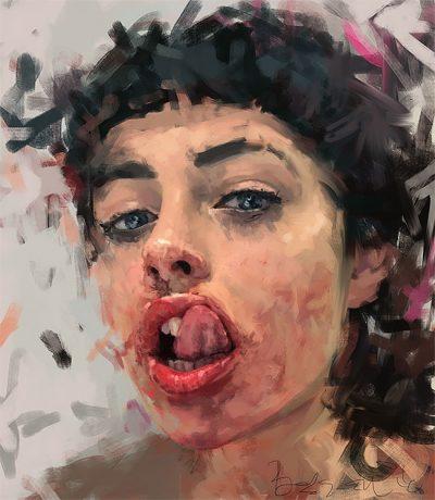 Емоционално суровата страна на хората – в портретите на Ivana Besevic