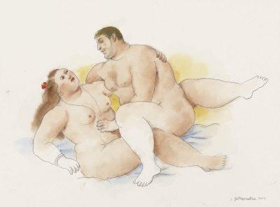 """Ботеросутра: любовта през """"по-закръглена"""" и красива призма в картините на Фернандо Ботеро"""