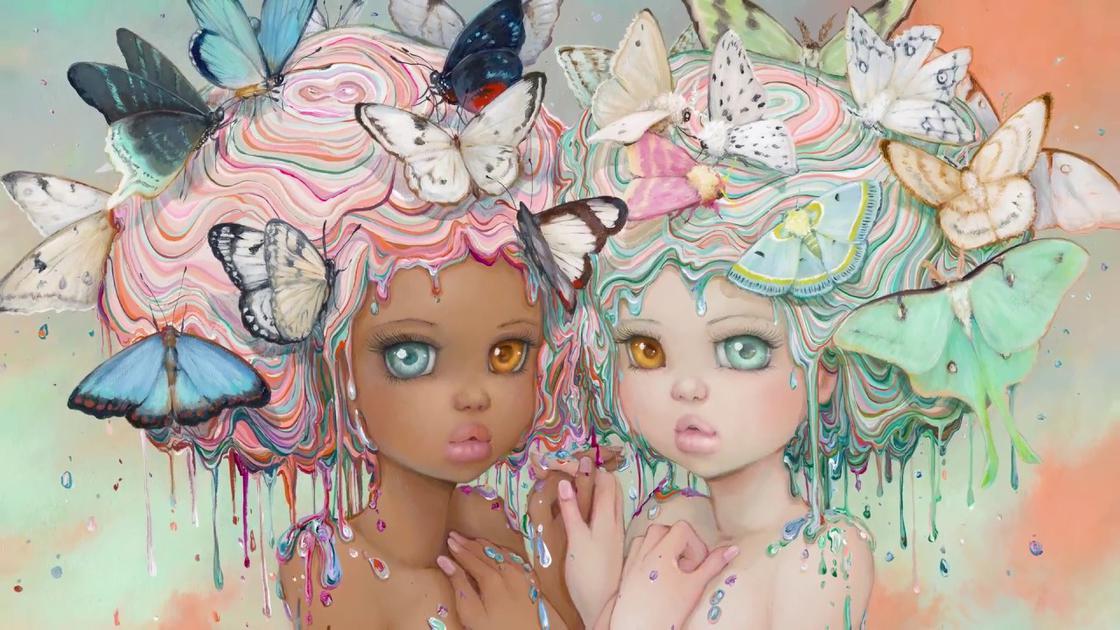Измамно детински - илюстрациите на Camilla d'Errico, смесващи поп сюрреализъм и манга култура