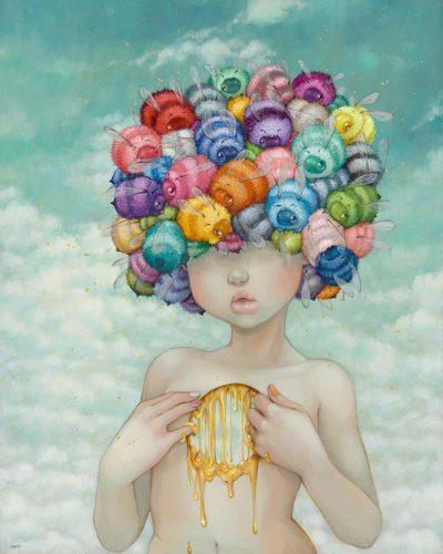 Измамно детински – илюстрациите на Camilla d'Errico, дръзко смесващи поп сюрреализъм и манга култура