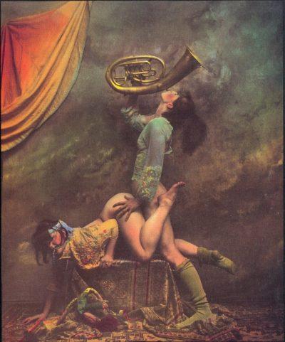 Гротеска и смущаващата еротика – в ръчно оцветените фотографии на Ян Саудек