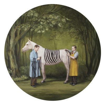 Добродетели и пороци – в сатиричните картини на Toni Hamel