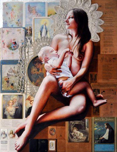 """Светлината, сенките и музите – в """"оголената"""", реалистична живопис на Victoria Selbach"""