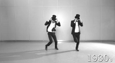Еволюция на танците (в 3-минутно видео)