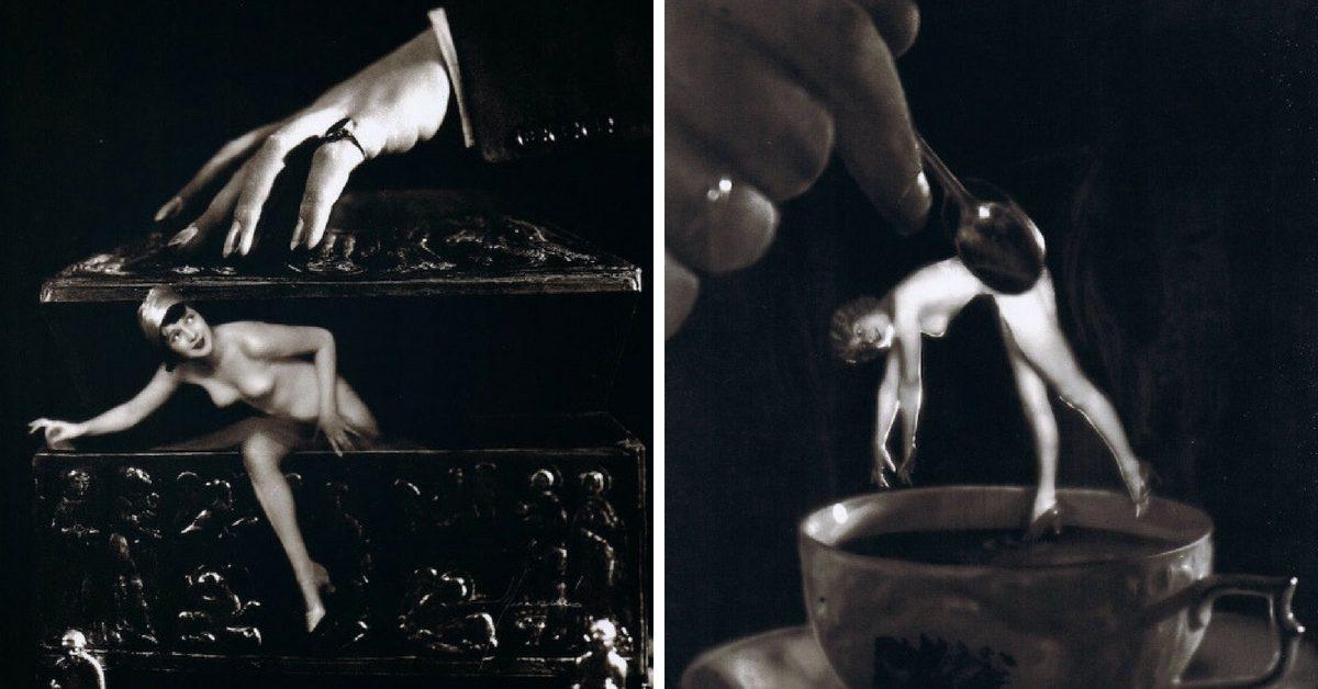 Сюрреалистичната актова фотография от 20-те и 30-те години на Студио Манасе