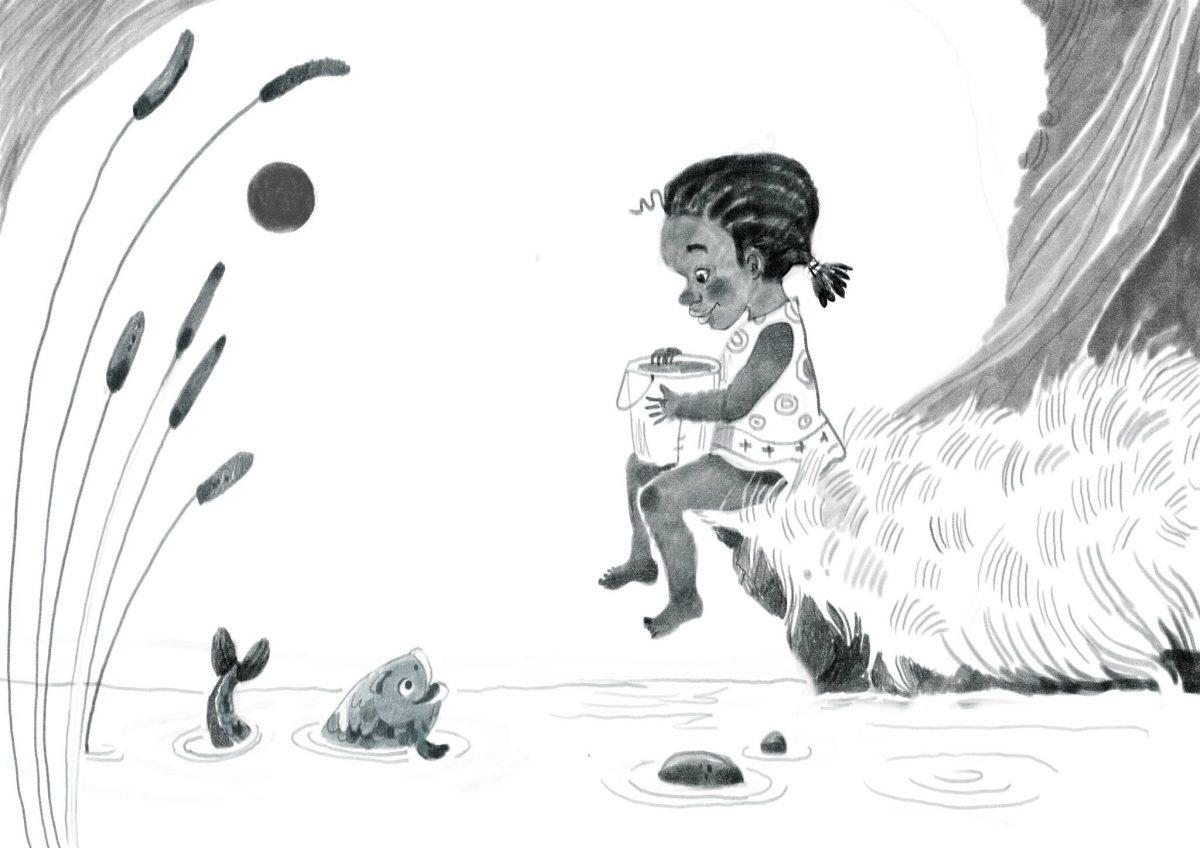 илюстрация към Тесин от Латиноамерикански приказки и легенди