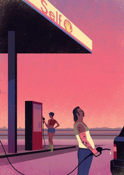 Смущаващо красиви – сюрреалистичните илюстрации на Davide Bonazzi