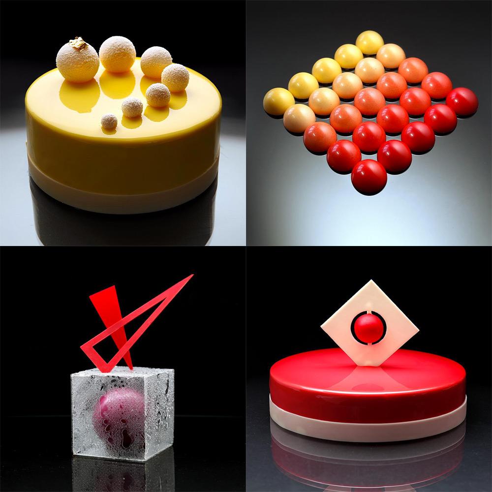 Необичайните, геометрични торти на Динара Касько (снимки)