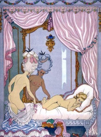 """Еротичните илюстрации на """"бащата на ар деко"""" Жорж Барбие"""