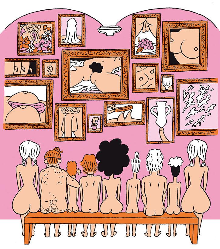Където сексът е забавен - илюстрациите на El Don Guillermo