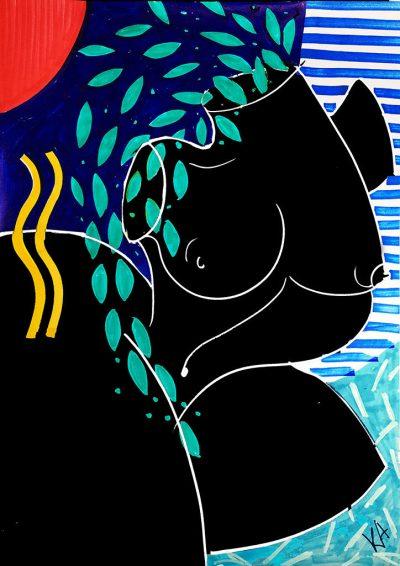 Флуидни линии и смела палитра – от любимата илюстраторка на Бионсе и Кара Делевин