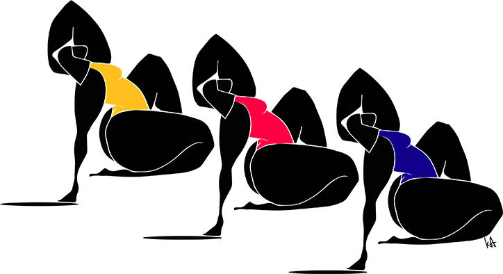 Флуидни линии и смела палитра - от любимата илюстраторка на Бионсе и Кара Делевин